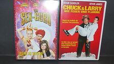 2 Top DVDs - Chuck & Larry + Der Sex-Guru - aus Sammlung, Paket