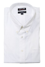 Kirkland Signature Mens Traditional Fit Long Sleeve Dress Shirt White 17 34/35