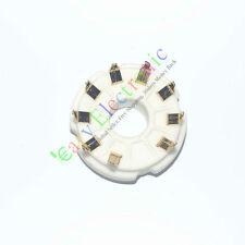 50pcs 9pin PCB GOLD Ceramic vacuum tube sockets valve base EL519 EL504 audio amp