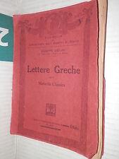 LETTERE GRECHE PER LA MATURITA CLASSICA Giuseppe Ugolini Societa Porta libro di