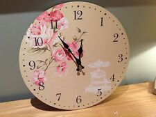 Shabby Chic Vintage Wall Clock