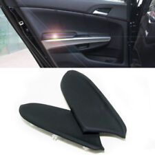 2Pcs Leather Front Door Panels Armrest Covers For Honda Accord 08-12 One Pair