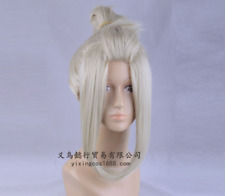 GINTAMA Silver Soul Tsukuyo Anime Costume Cosplay Wig +Cap +Track number