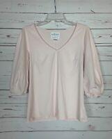 Velvet By Graham & Spencer Anthropologie Women's S Small Pink Spring Top Shirt