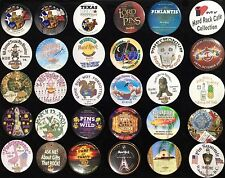 Hard Rock Cafe 1990s/2000s HRCPCC Pin Trading Event Exclusives BUTTON Set of 30