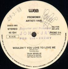 VARIOUS (TAJA SEVELLE / BLUE MERCEDES / SIMON F.) - Wouldn't You Love To Love Me
