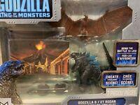 godzilla & et rodan toy battle figure set godzilla king of the monsters