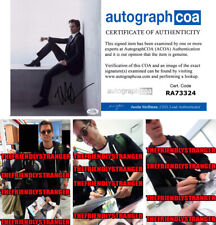 "MATT BOMER signed Autographed ""WHITE COLLAR"" 8X10 PHOTO b PROOF - Sexy ACOA COA"