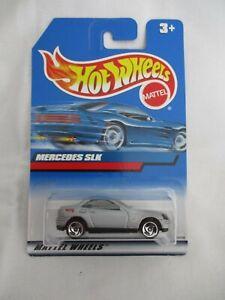 Hot Wheels 1999 Mainline Series Mercedes SLK Mint Card