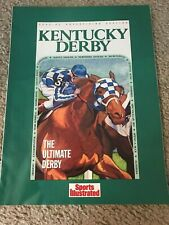 1989 Sports Illustrated Insert KENTUCKY DERBY SECRETARIAT SEATTLE SLEW AFFIRMED