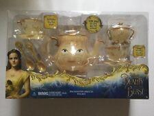 Disney Store Beauty and the Beast Enchanted Objects Tea Set Mrs Potts Chip