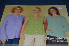 Classic Elite Knitting Pattern 9018 Premiere Sweaters
