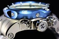 Invicta Men 54mm Reserve Venom Titanium Color Blue Bezel Texture Swiss Mvt Watch