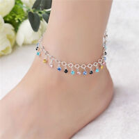 Fashion Simple Bracelet Scallop Shape Crystals from Austria Chain Bangle LE