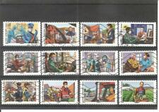 serie complete france 2020 tous engages timbres obliteres decolles