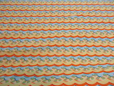 """Kites"" Felicity Miller Freespirit cotton quilting fabric FM25 Cloud stripe BTY"