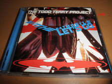 TODD TERRY PROJECT cd TO the BATMOBILE let's GO hit BANGO weekend JUST WANNA DAN