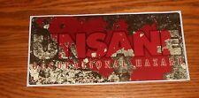 Unsane Occupational Hazard Sticker Decal Square Promo 7x3.5