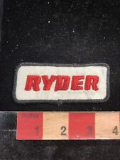 """Ryder Rental Trucks Embroidered Patch  3x3/"""""""