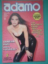B ADAMO N 16 Raro 1981 Ornella Muti New Trolls Finardi R. Fogli V. Valentino