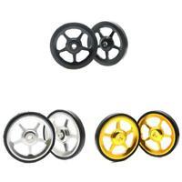2pcs Aluminium Alloy Wheel Modification Kits Easy Wheel for Brompton