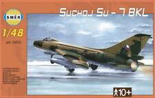 Sukhoi Su-7 BKL Fitter in USSR, Polish, Czech (1/48 model kit, Smer 0853)