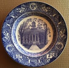 1938 University of Iowa Wedgwood Third Edition Old Capitol Plate
