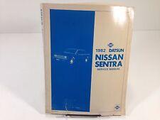 1982 Datsun Nissan Sentra Service Manual SM2E-B11UU0 Original OEM