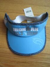 New with Tags 70.3 Ironman Triathlon Steelhead Womens VisorBlue w/ Elastic back