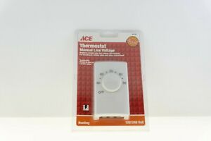 Ace Hardware / Lux 42727 Thermostat Manual Line Voltage New in Box