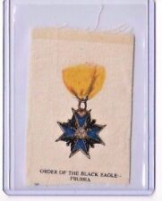 c1910 Itc Military Medals Silks Order Of The Black Eagle - Prussia