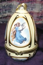 Mr Christmas Musical Egg Ornament 2007 Angels Valerie Hill Collectible