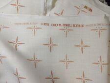 Erika M. Powell Textiles Petite Cross &Dots Peach Fabric 2 1/4 yards