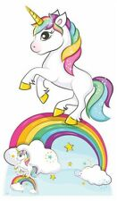 Rainbow Unicorn Lifesize and Mini Cardboard Cutout / Standup / Standee - Fantasy