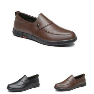 Mens Faux Leather Driving Moccasins Shoes Pumps Slip on Loafers Flats Soft New L