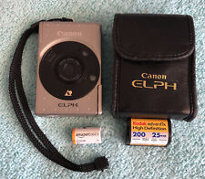 Canon ELPH 2 Digital Camera | APS Film Format | Tested & Working~~New Battery~~