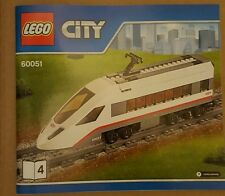 2 x Lego City Passenger Train 60051 Dummy Carriage Brand New NO BOX