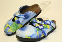 Birki's by Birkenstock Little Girls Childrens 8 Multicolor Slip On Shoes Sandals