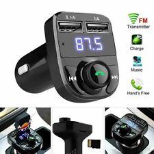 Transmetteur FM sans fil adaptateur allume-cigare X8 Bluetooth 4.2 MP3 Port Usb