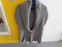Marc O´Polo Damen Strickweste; Gr XL; Grau; Wolle