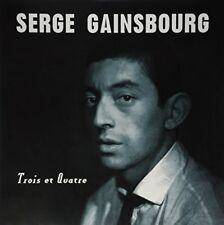 Serge Gainsbourg TROIS ET QUATRE (DELUXE) 180g GATEFOLD Dol NEW SEALED VINYL LP