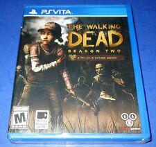 The Walking Dead: Season Two Sony PlayStation Vita Factory Sealed! Free Ship!