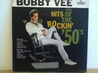 BOBBY  VEE          LP       HITS  OF  THE   ROCKIN   FIFTIES