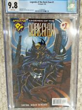 Legends of the Dark Claw #1 CGC 9.8 White Pages Batman / Wolverine Amalgam