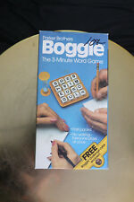 Boggle Game Parker Brothers Challenge Cube Wooden Cubes 1976 1980 1983