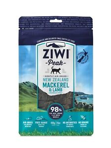 Ziwi Peak Air Dried Cat Food 400g - New Zealand Mackerel & Lamb