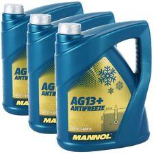 3x 5 LITRI MANNOL RADIATORE ANTIGELO REFRIGERANTE Advanced ag13+ GIALLO fino a -40 ° C