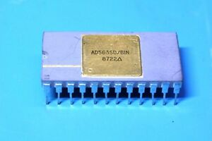 Analog Devices AD563SD/BIN 12-bit A/D Converter Gold Ceramic - New Old Stock