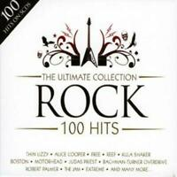 Various Artists : The Ultimate Collection - Rock: 100 Hits CD Box Set 5 discs