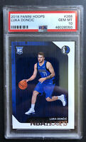 Luka Doncic Rookie Card PSA 10 Gem Mint 2018 NBA Hoops Short Print PSA# 46026050